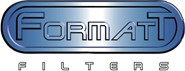Format Logo: Manufacturer of glass and resin filters.